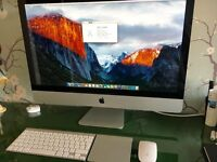 "2011 Imac 27"" 8gb RAM, 1024mb graphics, in mint condition £600"