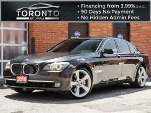 2010 BMW 7 Series xDrive|heads up display|executive pkg|navi