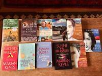 40 Fiction paperbacks, various titles