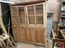 Pine Bookcase / kitchen unit