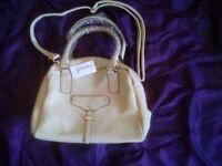 Brand new beige handbag