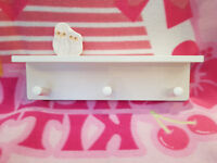 Ikea Klade 3 peg clothes rack