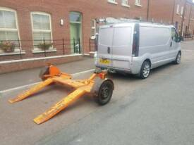RAC car transporter towing trailer recovery