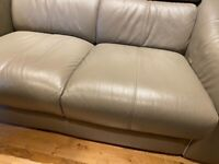 Barker and Stonehouse Italian leather sofa