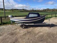 Orkney fishing boat