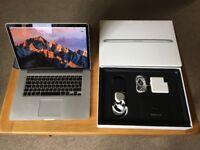 MacBook Pro (Retina, 15-inch, Mid 2015) • 2.5 GHz Intel Core i7 • 16 GB 1600 MHz DDR3 • 512GB