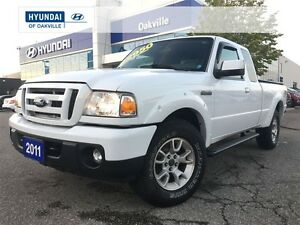 2011 Ford Ranger SPORT 4X4 | ALLOYS | POWER OPTION | ONE OWNER