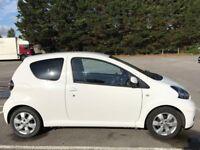 Toyota Aygo Go 1.0 - White, full service history