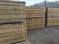 ❗️New Tanalised Wooden Railway Sleepers Excellent Quality • HeavyDuty