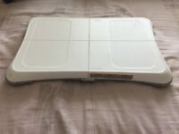 Nintendo Wii Board and Sensor and Games