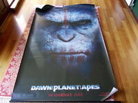 Sawn of Planet of the Apes cinema banner