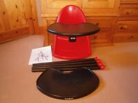 Baby Bjorn High Chair/Travel Highchair In Red