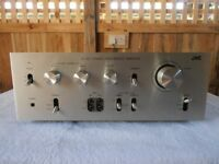 JVC JA-S11 VINTAGE AMPLIFIER with PHONO STAGE FOR TURNTABLE .