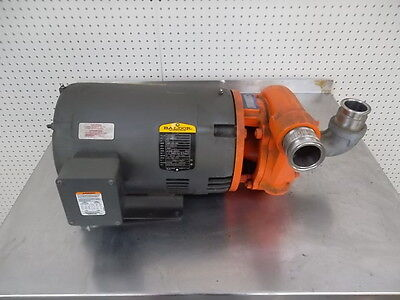 Berkeley Centrifugal Pump B2tpms Water Pump 3450 Rpm W10hp Baldor Motor