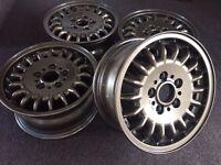Genuine BMW alloy wheels - FULLY REFURBISHED - RARE BRONZE COLOUR