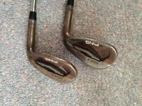 Ping Tour-S 52 and 58 degree wedges