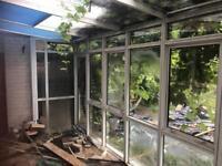 Aluminium conservatory for sale