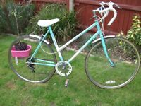 TOWNSEND LADIES RACER ONE OF MANY QUALITY BICYCLES FOR SALE