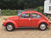 Classic vw beetle 1302s 1972
