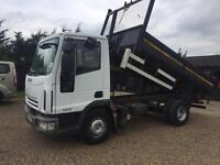 Iveco 75e18 2008 Tipper 1 years mot lez compliant