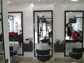 Beauty Room to Rent above Hair Salon in Hall Green Birmingham - Chairs available to rent in salon