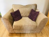 Next 3 Seater Sofa & matching Snuggle Chair