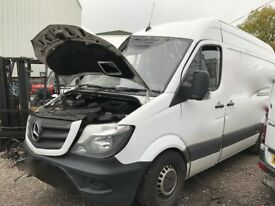 MERCEDES SPRINTER 2006-2015REG BREAKING FOR PARTS!!! VAN REPAIR SERVICE!!!!