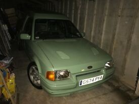 Ford Escort Van, Mk4, 1990, G-reg, 1.8td, Motd, Custom Paint, RS Turbo Bonnet, alloys and interior.