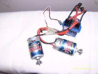 traxxas evx-2 esc +2 titan 550 motors