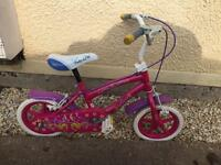 Girls bike 12 inch wheels