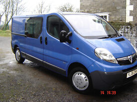 Vauxhall Vivaro Crew Cab Van, 2.0CDTI (115PS) 2.9T, LWB, NO VAT, NO VAT