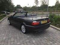 BMW 320 convertible only £2895