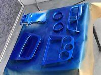 custom painted dash trim impreza 00-05
