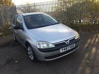 2001 VAUXHALL CORSA 1400 16v SRI 3 DOOR HATCH BACK LONG MOT CHEAP INSURANCE