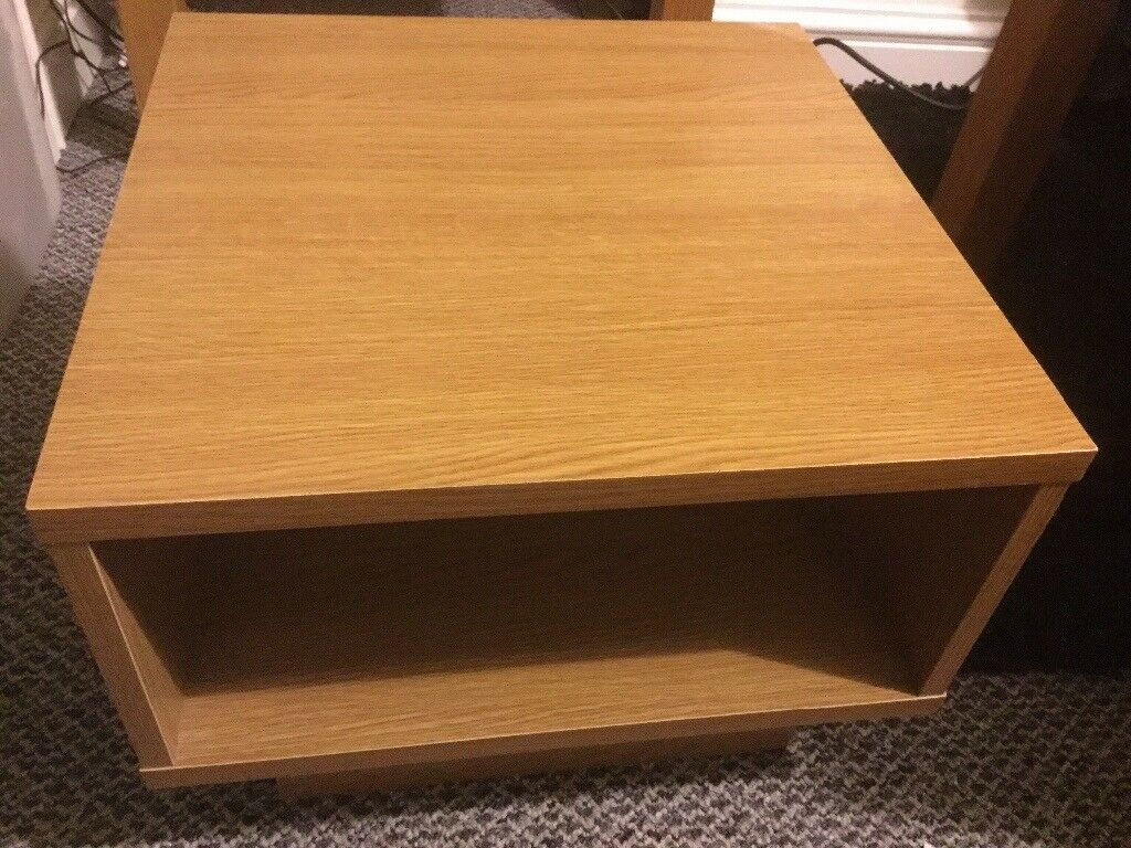 Argos Small Oak Effect Telephone Side Table
