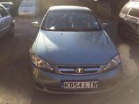 Daewoo Lacetti 2004 1.6 mot and Tax - 1 Owner from new - Low mileage