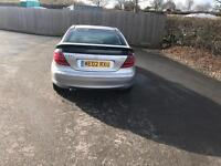 Mercedes C class coupe diesel full service history