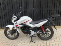 Honda CB 125F White - 2017 model (8 months old) CB125F 125cc commuter first bike