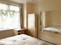 🔑✅DOUBLE ROOM TO RENT £135pw or 155pw / Bruce Grove / Seven Sisters / Tottenham / NO FEES.