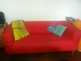Lovely Red Ikea sofa