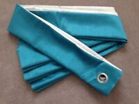 Fabulous Made to Measure Teal Curtains