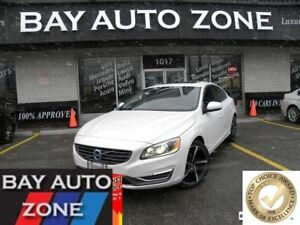 2015 Volvo S60 T5 PREMIER PLUS+BLIND SPOT+REAR CAMERA+PUSH START