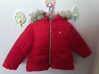 Zara girls coat , aged 2-3 years