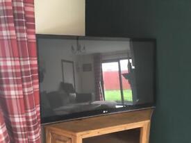 LG 46inch flat screen tv