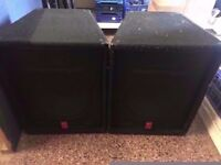 FENDER 150 WATT SPEAKERS