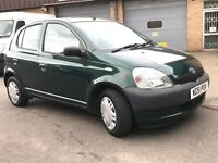 Toyota Yaris 1.0 5dr, low mileage