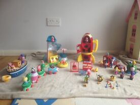 Peppa Pig toy bundle incl. ben and holly and The Hive sets