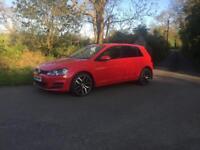 MK7 red 5 door GOLF 1.6 diesel