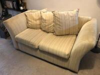 Two seater sofa - Cream - Southampton