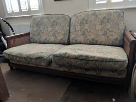 Designed pieces - sofa set made of Solid wood and goose down filled cushions